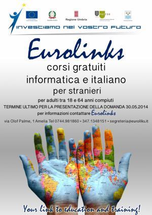 Locandina corsi gratuiti EDA Eurolinks