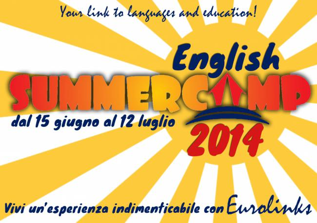 Locandina English Summer Camp 2014